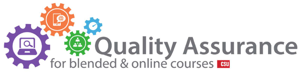 Quality Assurance for Online and Blended Courses