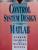 Control System Design Using Matlab Cover Page