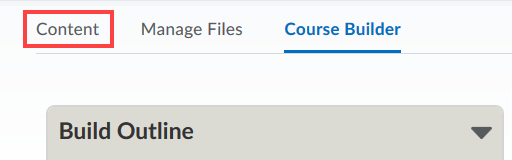 Course builder's relation to content modules