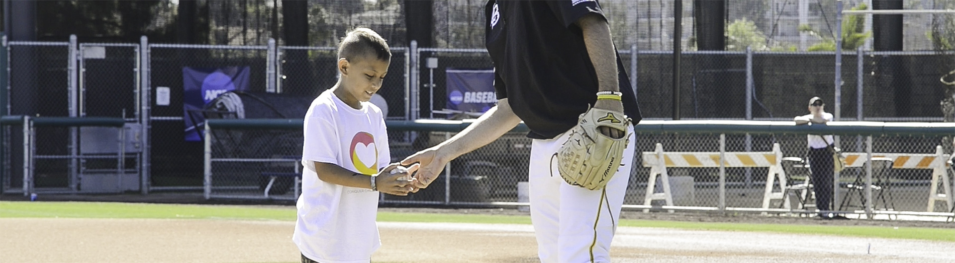 cancer kid with Dirtbags player