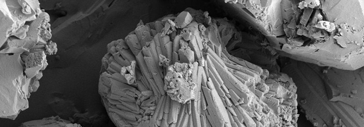 zeolite, a hybrid porous material used to filter methane from landfill gase