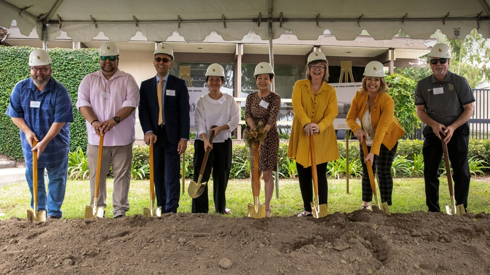 Anna W. Ngai Visitor Center Ground Breaking Ceremony