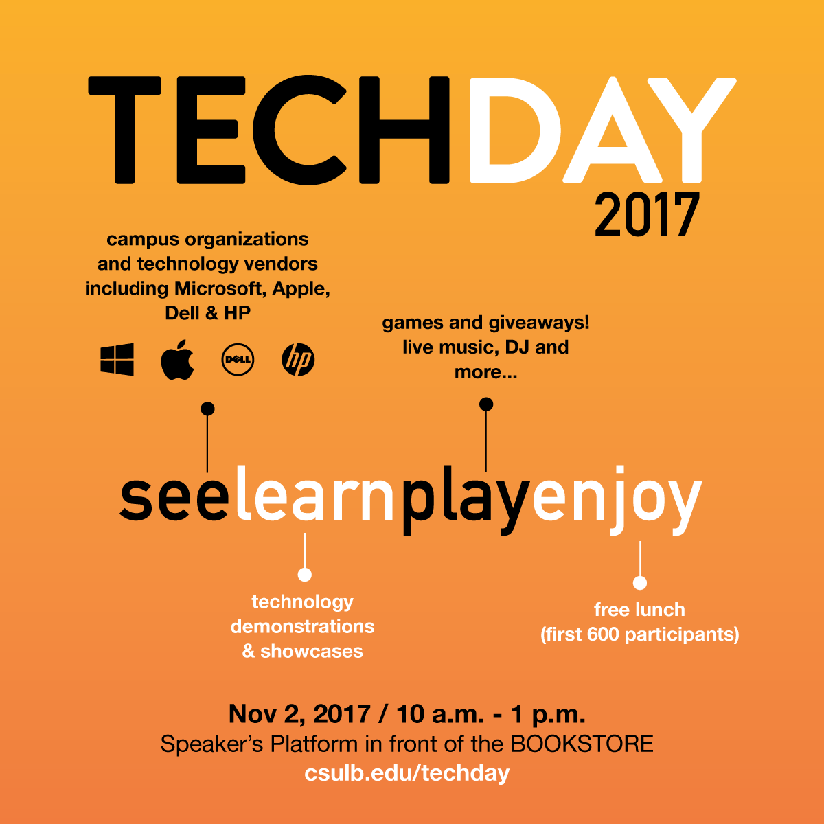 tech day flyer