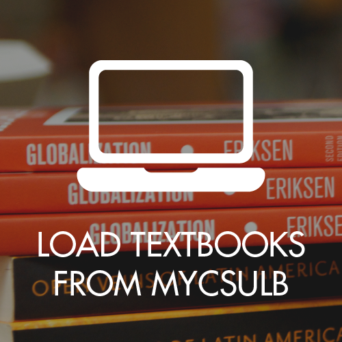 Load Textbooks on to CSULB