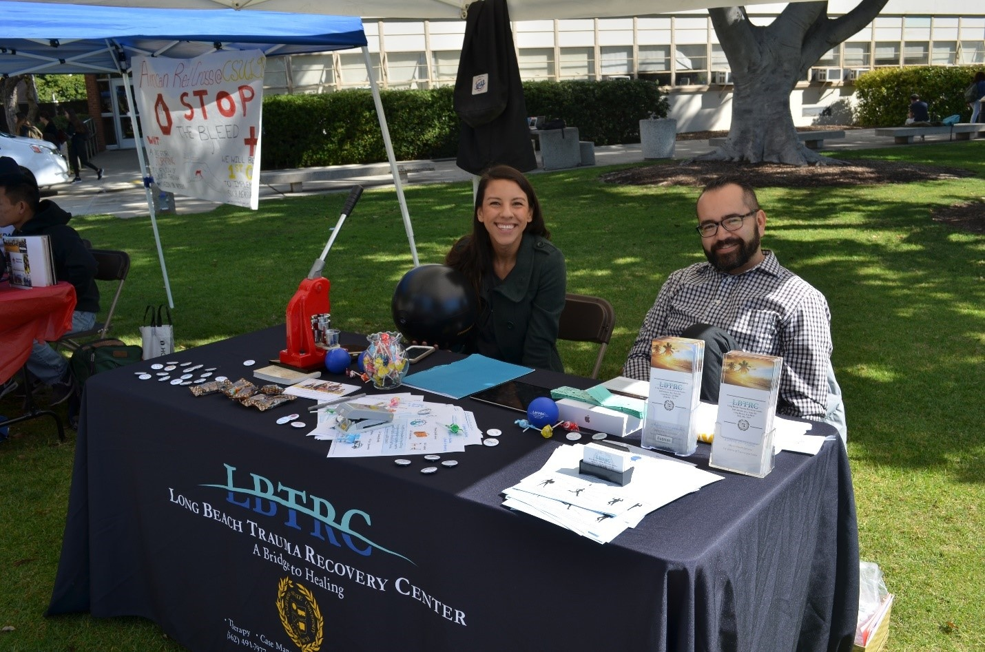 clinicians from the Long Beach Trauma Recovery Center