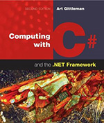 Computing with C# and the .NET Framework (2nd edition) Cover Page