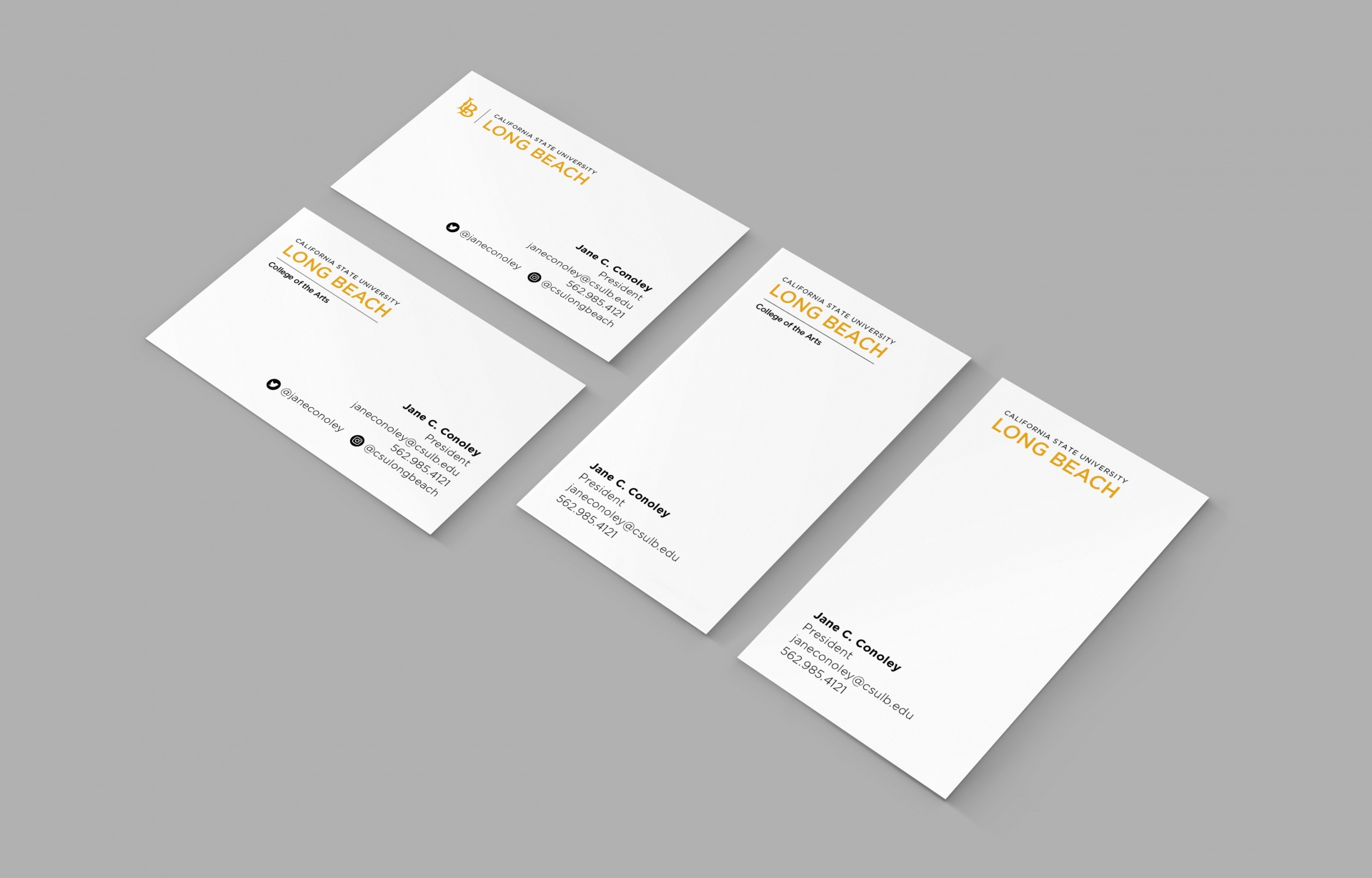 Business cards samples