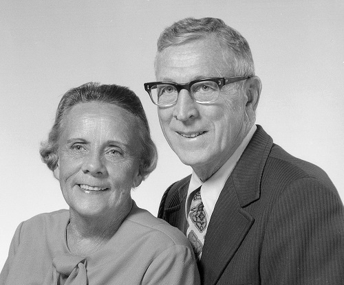 Nell and John Wooden