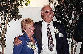 Photograph of Robert and Janet Spidell