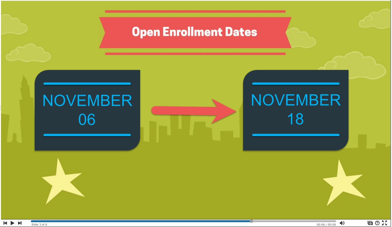 open enrollment video