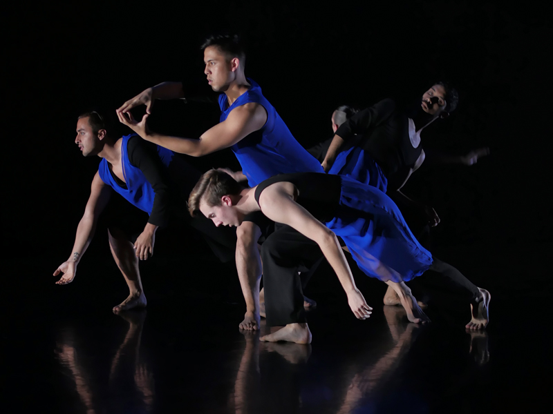 CSULB Dance Students put on a performance on stage