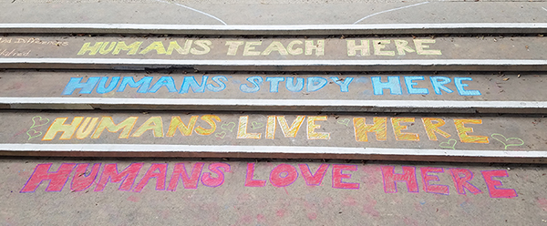 Teacher Here, Study Here, Live Here, Love Here