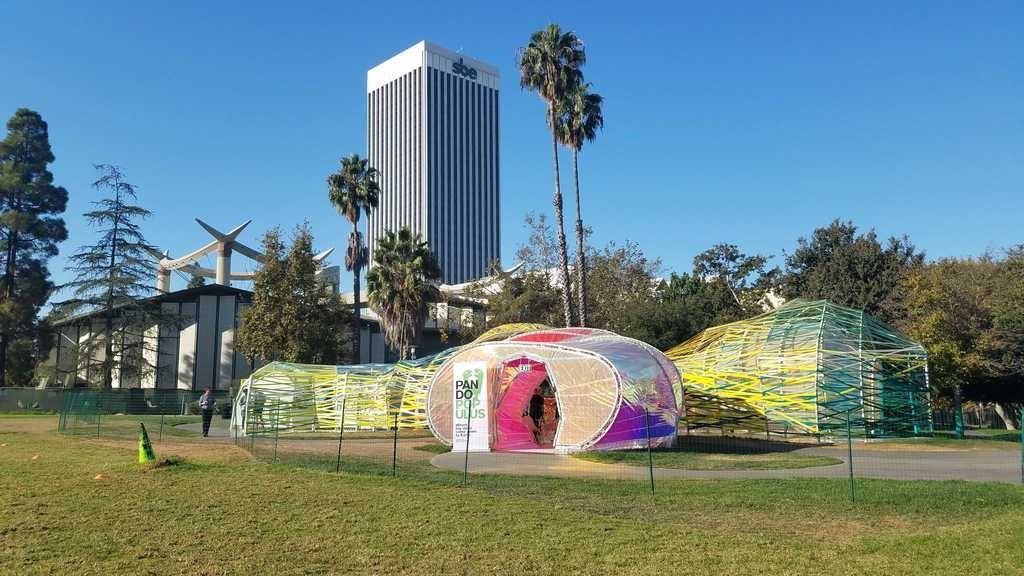 Second Home Serpentine Pavilion by SelgasCano at the La Brea Tar Pits