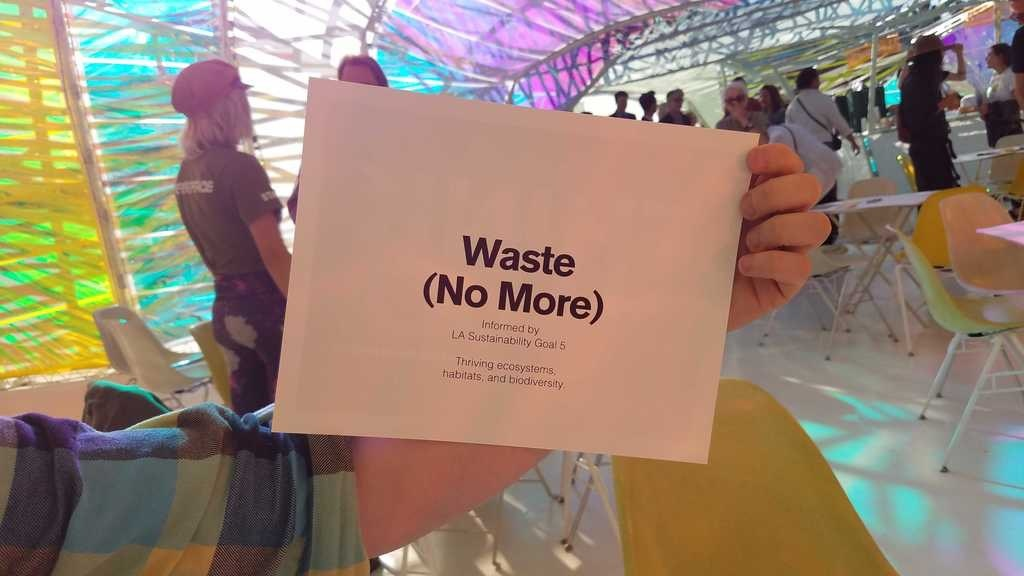 Waste (No More) invitation packet