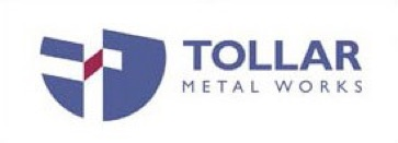 A logo for Tollar Metal Works
